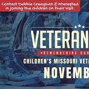 HBC Childrens visit to the MO Veterans Home