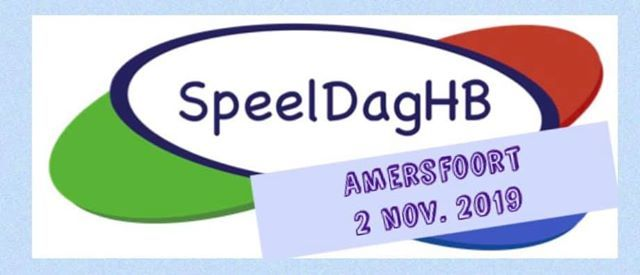 SpeelDagHB 8 Amersfoort - za 2 november 2019