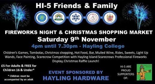 HI-5 Fireworks Night & Christmas Shopping - FREE BUS