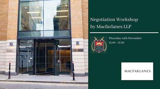 Negotiation Workshop by Macfarlanes LLP