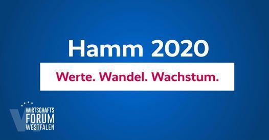 Wirtschaftsforum Westfalen  Hamm 2020