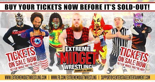 Extreme Midget Wrestling Live in Hutchinson KS