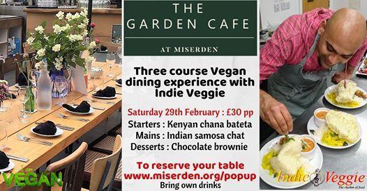 Pop Up Restaurant - Indie Veggie