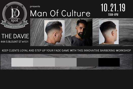 Man Of Culture Barber Workshop