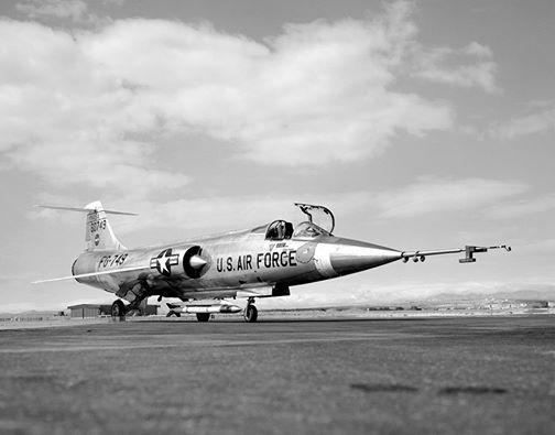 F-104 Starfighter Open Cockpit
