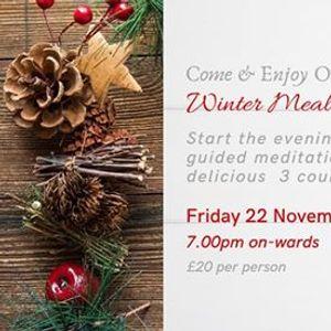 Winter Meal & Meditation