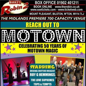 The Robin presents Reach Out To Motown