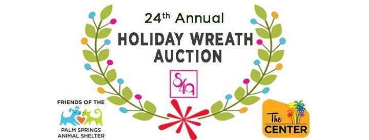 24th Annual Holiday Wreath Auction