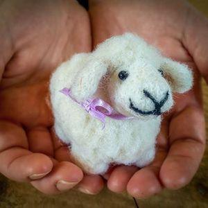 Needle Felt a Lovable Lamb