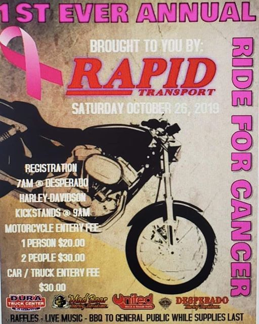 Rapid Transport Ride For Cancer