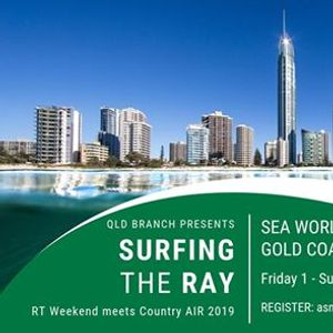 QLD RT meets Country AIR Weekend - Surfing the Ray