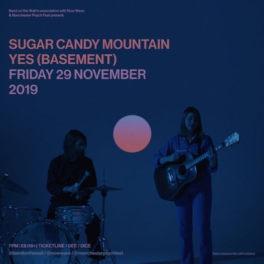 Sugar Candy Mountain  The Bleachs at YES Basement Manchester