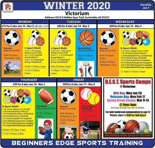 Winter 2020 Classes.Best Victorium Winter 2020 Classes At Victorium Scottsdale