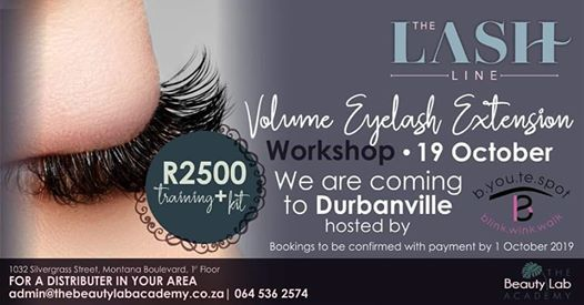 Volume Lash Extension Workshop