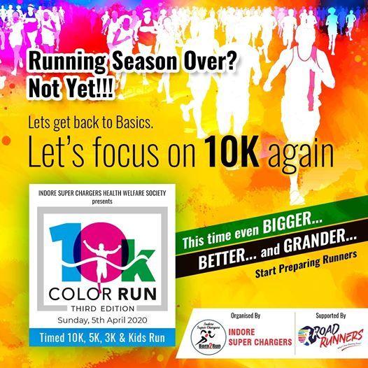Lotus 10k Color Run 2020 Indore
