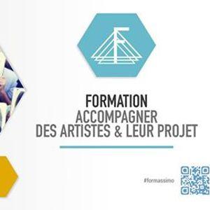 Formation Accompagner des artistes & leur projet