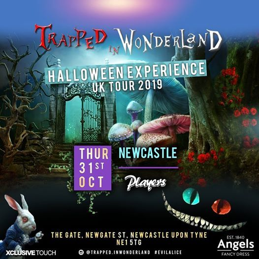 Trapped In Wonderland Halloween Experience Newcastle