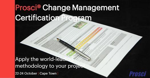 Prosci Change Management Certification Program (CPT)