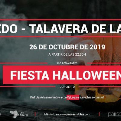 Fiesta Halloween con Dj Laguna en Pause&ampPlay Los Alfares