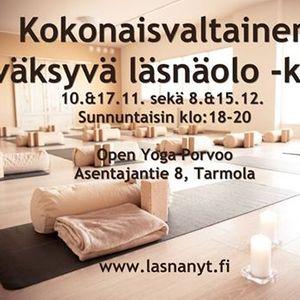 Kokonaisvaltainen hyvksyv lsnolo -kurssi Lsn Nyt