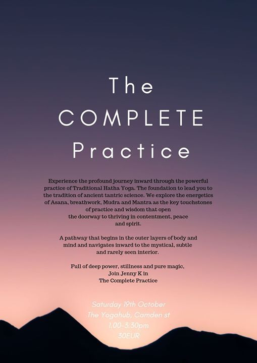 The Complete Practice with Jenny Keane