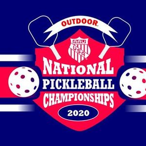 National Pickleball Tournament 2020.2020 Aau National Outdoor Pickleball Championships At