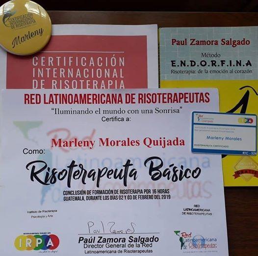 II Certificacion de Risoterapia Costa Rica