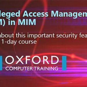 Privileged Access Management (PAM) in MIM