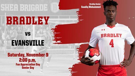 Bradley Soccer vs Evansville