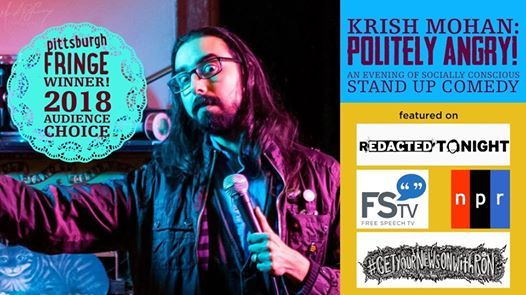 Louisville Krish Mohans Politely Angry Live Stand Up Comedy
