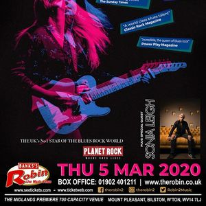 The Robin 2 presents Joanne Shaw Taylor