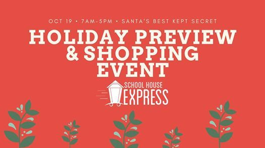 Holiday Preview & Shopping Event