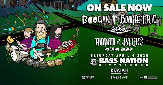 Boogie T and Boogie T.rio Riddim and Blues Tour - Pittsburgh