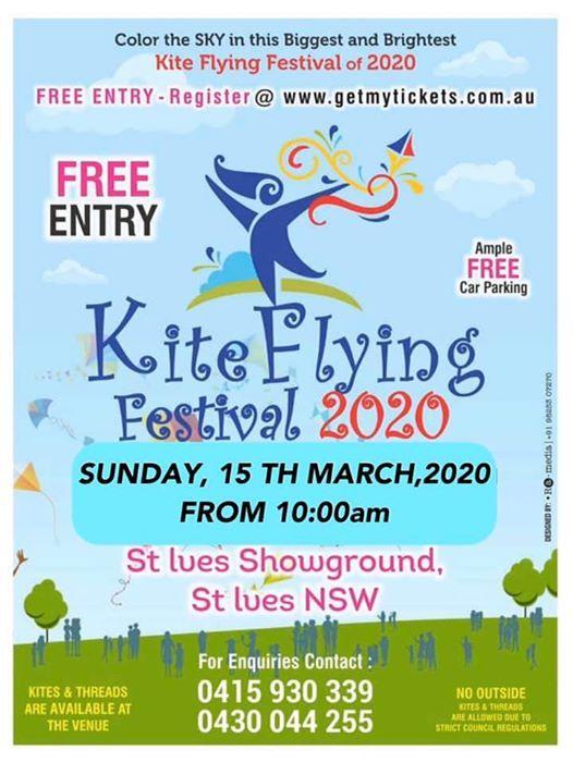 Kite Flying Festival St Ives Showgrounds