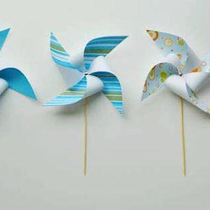 Paper Pinwheels - Tamariki Zone