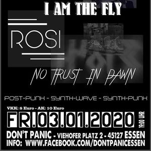 I Am The Fly Rosi No Trust In Dawn (Synth-PostPunk Dark Wave)