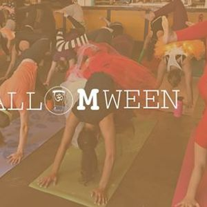 Halloween Yoga  Cocktails at Old Sugar Distillery