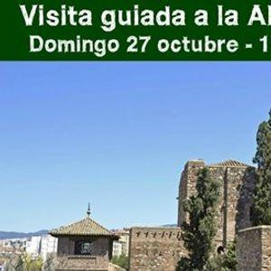 Visita guiada a la Alcazaba de Mlaga al anochecer