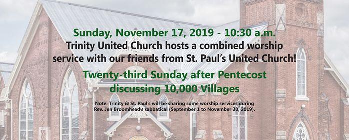 Sunday Worship - Twenty-third after Pentecost