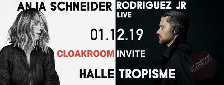 Les dimanches electropisme Rodriguez Jr (live) & Anja Schneider