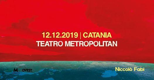 Niccol Fabi in concerto a Catania