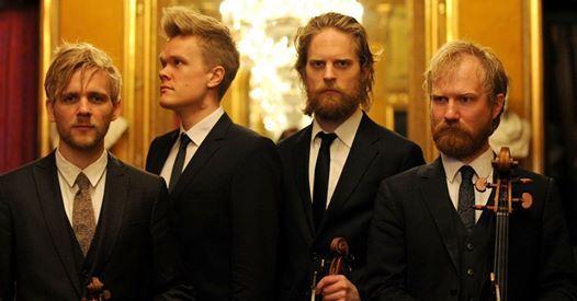 Danish String Quartet performing Bach Mendelssohn and Beethoven