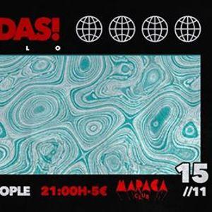 Vamos Bandas Xango Tribu  Opossite People