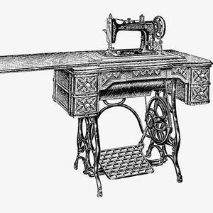 Demo Treadle Machine Sewing