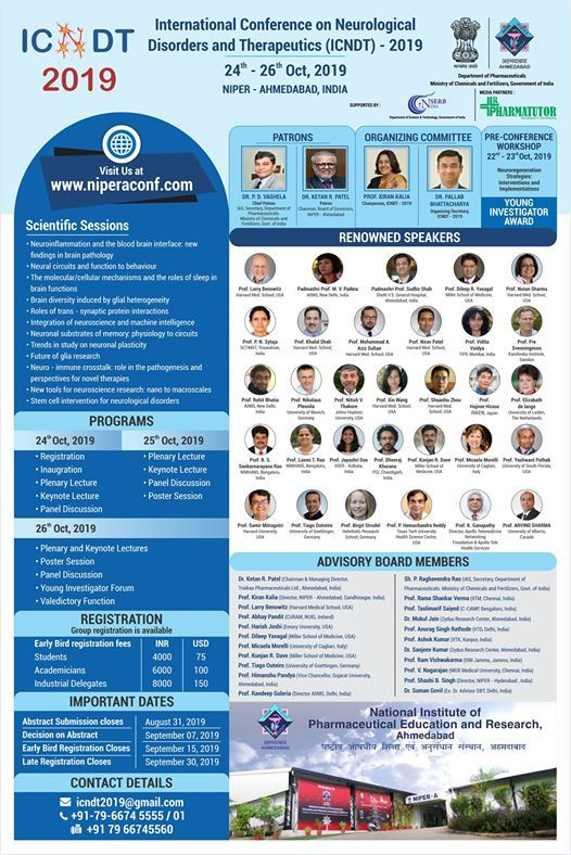 International Conference on Neurological Disorders & Therapeutic
