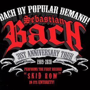Sebastian Bach Columbia SC Skid Row LP 31st Anniversary Tour