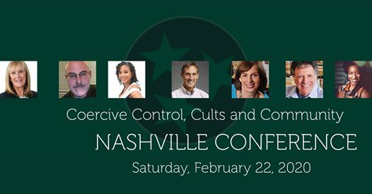 Coercive Control Cults and Community Conference  6 CE Hours