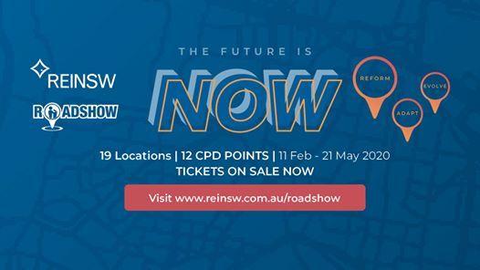 Gymea  The Future is Now 2020 Roadshow