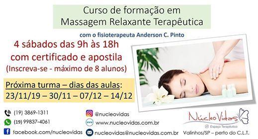 Massagem Relaxante Teraputica