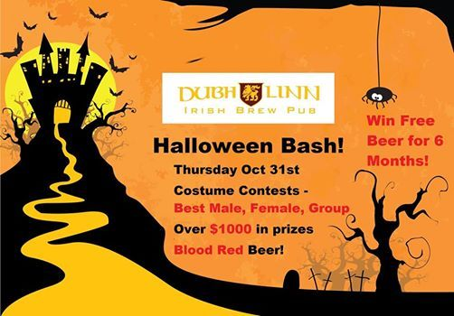 Duluth Halloween Events 2020.Halloween Bash At Dubh Linn Brew Pub Duluth